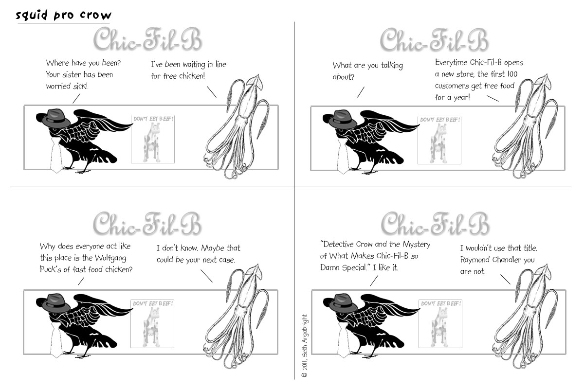 Detective Crow, Chapter 4: Birds of a Feather